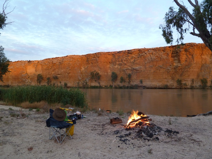 Camping & kayaking on the Murray River, South Australia