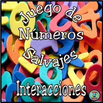 """Are your students bored with traditional Bingo games? Get your """"jungle"""" on! Reinforce and practice number vocabulary 0 to 100. Numbers Wild Bingo """"Números Salvajes"""" is a fast-paced speaking game that goes beyond a traditional Bingo game, using simple equations."""