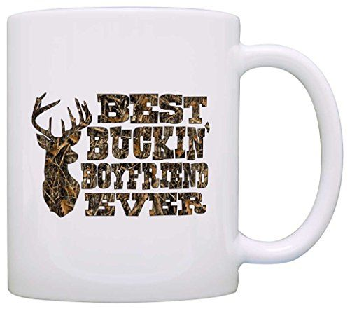 Country Gift for Boyfriend Best Buckin' Boyfriend Ever Wood Camo Gift Coffee Mug Tea Cup White ThisWear http://www.amazon.com/dp/B017DM0L38/ref=cm_sw_r_pi_dp_MNvPwb18J7GYN