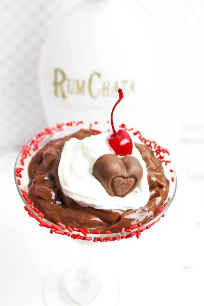 Boozy Valentine's Day Dessert Recipe — Rum Chata Chocolate Pudding ...