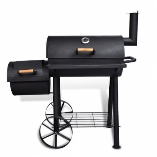 Portable Charcoal Bbq Grill Wheels Barbecue Barbeque