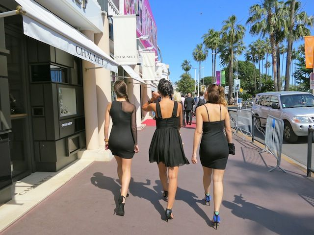 High heels at the Cannes Film Festival Cannes Film
