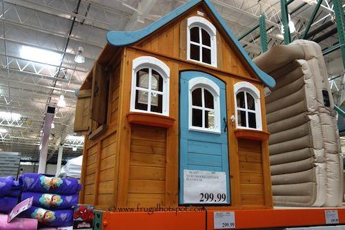 Cedar Summit Storybrooke Cottage Playhouse . #Costco #FrugalHotspot
