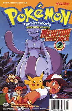 Pokémon the First Movie: Mewtwo Strikes Back #2 VF/NM ; Viz comic book