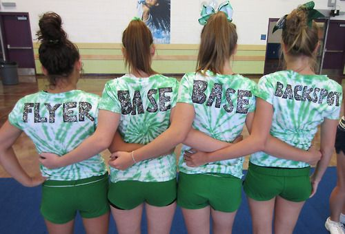 Cool shirts for stunt group! yes but navy tie die with navy shorts. <3