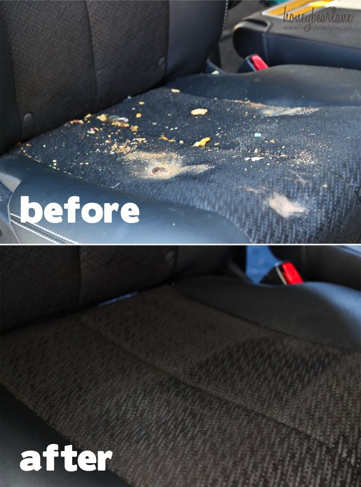 DIY auto detailing - includes recipe for upholstery and carpet cleaner (using scented laundry detergent)