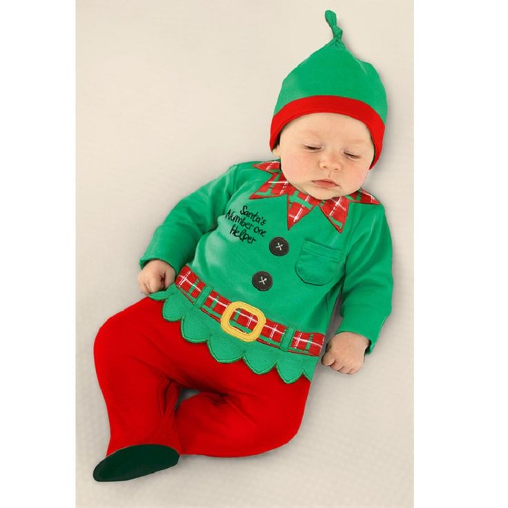 Christmas Baby Rompers Santa Costumes Baby Clothing sets Overall baby boy clothes jumpsuit roupa de bebe roupas para bebe menino
