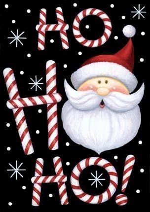 CHRISTMAS HO, HO, HO SANTA