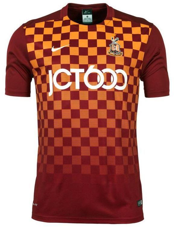 Bradford City Home Kit 2015 16