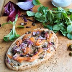 ... pizza with gourmet ingredients. | Foods | Pinterest | Pizza and Posts