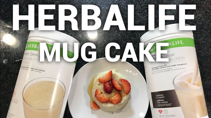 Healthy Mug Cake Recipe | Cookies and Cream | #Herbalife ...