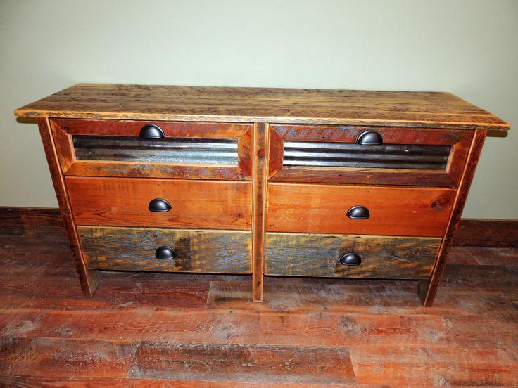 17 Best Images About Barnwood Log Bedroom Furniture On Pinterest 6 Drawer Dresser Vacation
