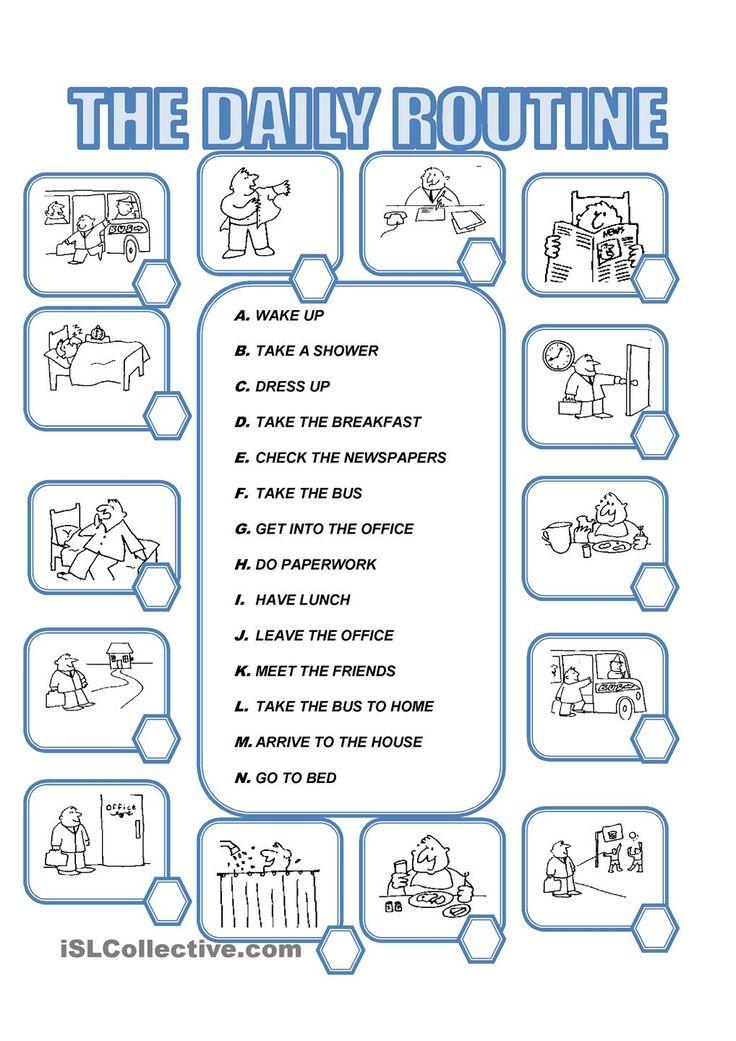 Best 25+ Daily routine worksheet ideas on Pinterest