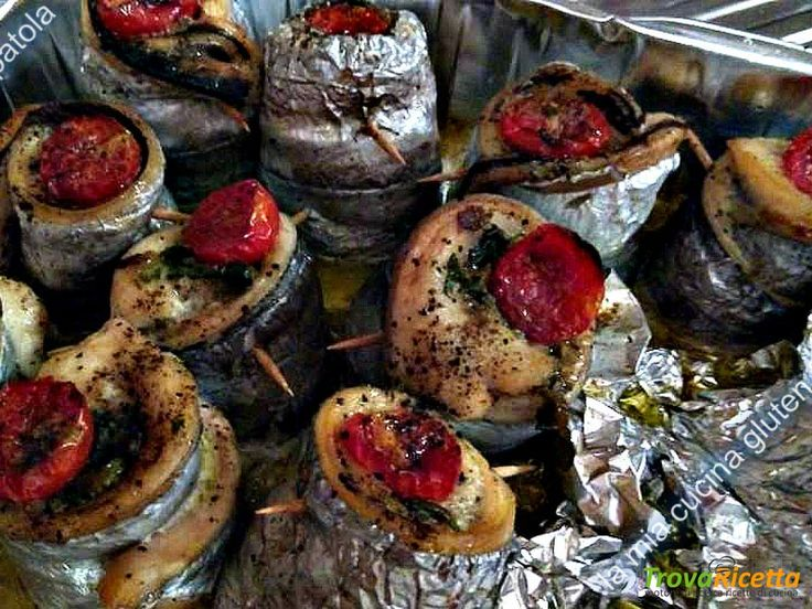 Involtini di pesce spatola al forno  #ricette #food #recipes