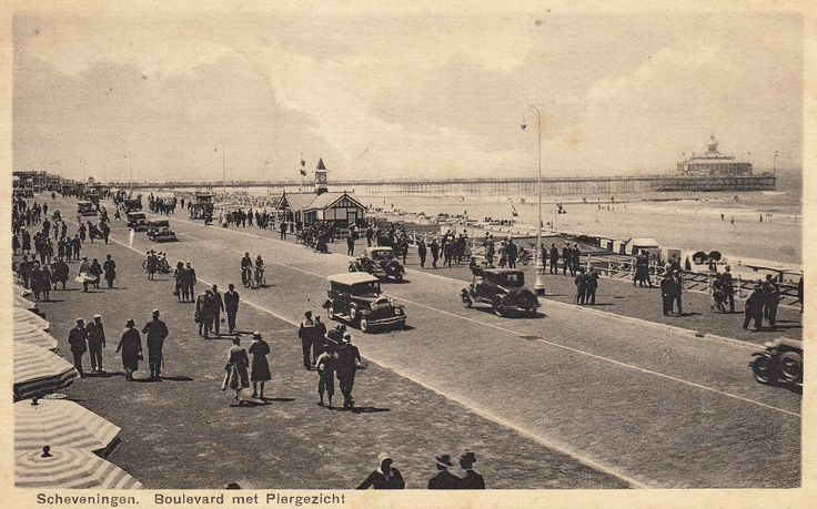 Scheveningen - Boulevard - 1935