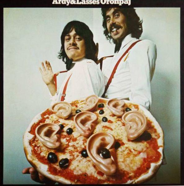Lasse Åberg & Ardy Strüwer - Ardy & Lasses Öronpaj (Sweden 1973)