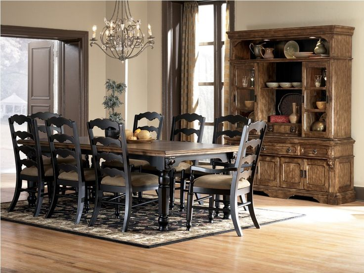Majestic Ashley Dining Room Furniture In White Oak Get Home Exceptional