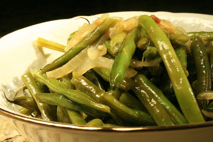Olive Oils, Green Beans, Fresh Green