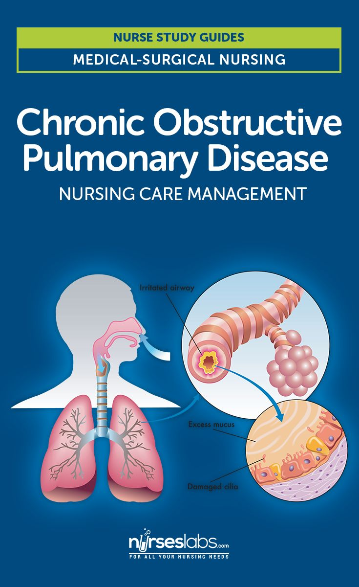 nursing chronic obstructive pulmonary disease Chronic obstructive pulmonary disease, anxiety,  and to identify nursing implications derived from these findings  chronic obstructive pulmonary disease.