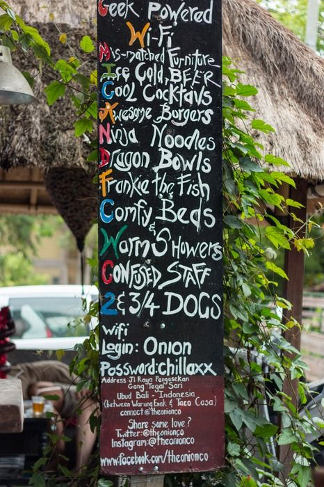 The Ultimate Guide To Ubud, Bali: Villas, Scooters, Monkeys + 19 Places To Eat. #ubud #bali #food