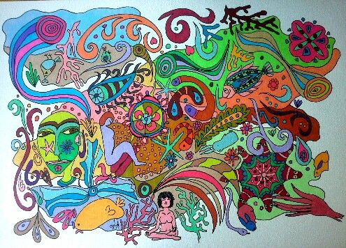 Under pressure. By marjacq.art. hartopdetong.wordpress.com