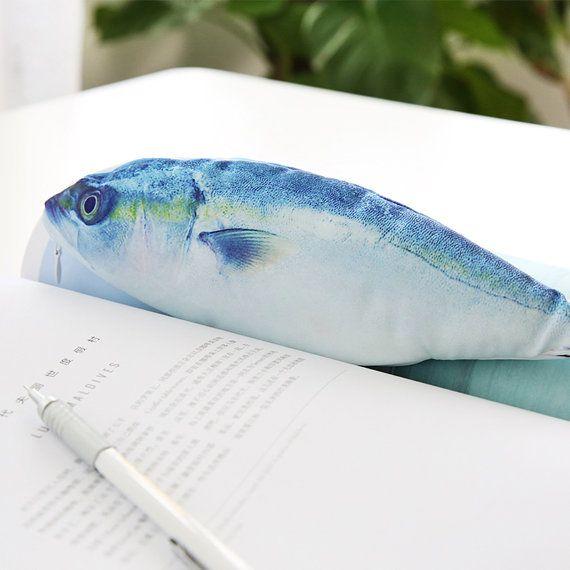 Cute Fish Pencil Case Pencil Pouch Receive Pouch