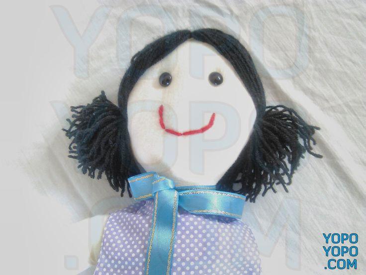 Oyuncak Kız Bebek Püsküllü Siyah Saçlı PT2525  Renk: Karma  Kumaş: Karma  İç Dolgu: Elyaf  Ebat: 52 cm  Fiyat: 30 TL  Açıklama: Saçı İp Püsküllüdür.  Kargo: Alıcıya Ait (Firmayı seçebilirsiniz)