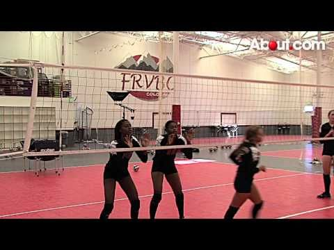 Tips for Placing a Volleyball Serve