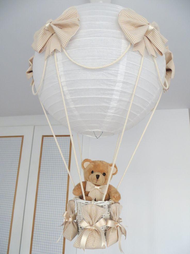 lampara globo marrón osito (2)