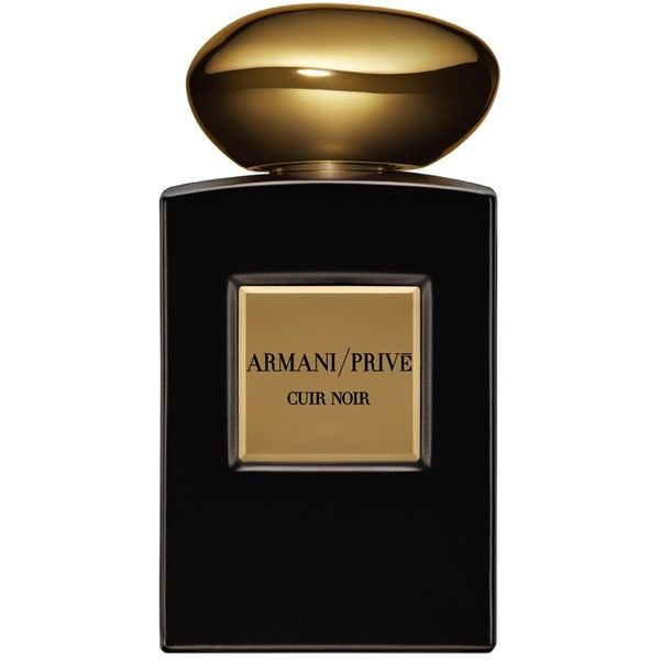 Armani Beauty Privé Cuir Noir Eau De Parfum 250ml (52675 RSD) ❤ liked on Polyvore featuring beauty products, fragrance, eau de perfume, armani beauty, eau de parfum perfume and edp perfume