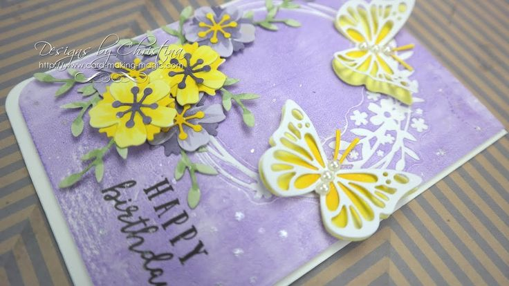 Simply Cards & Papercraft 173 (SC&P 173) - Butterfly Dreams