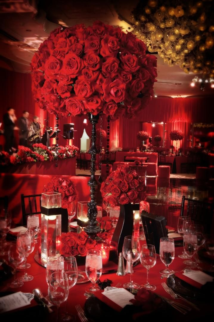 Best red and black inspired wedding images on pinterest