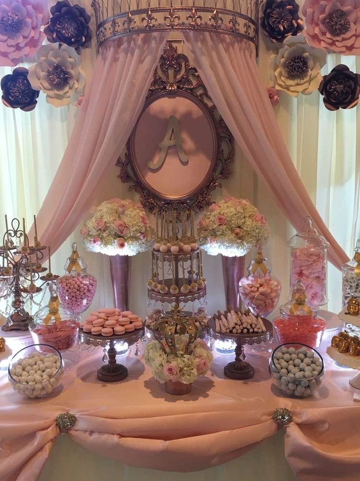 Fit for a princess Royal Quinceanera! See more party ideas at CatchMyParty.com                                                                                                                                                                                 More