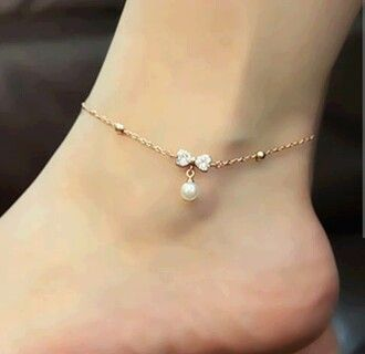 Cute anklet