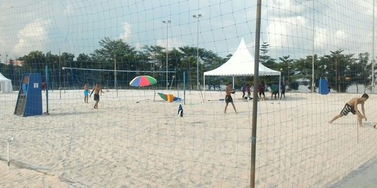 Jakabaring Beach Volleyball Field