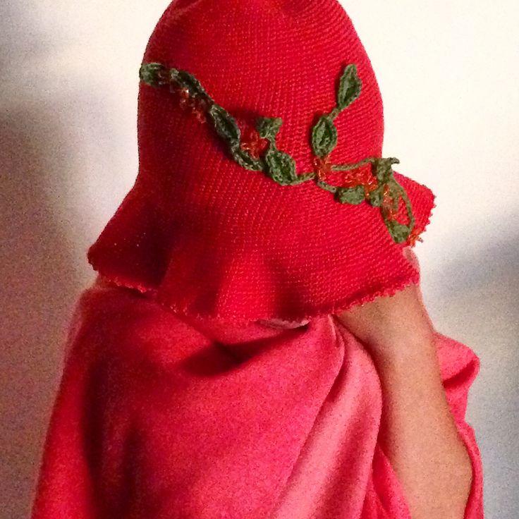 knitted elves cap