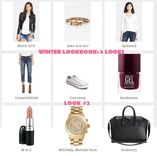 *CLICK IMAGE FOR DETAILS*  WINTER LOOKBOOK: 5 LOOKS #lookbook #winterlookbook #womenfashion #fashion #Maclipstick #givenchyantigona #michaelkors #converse