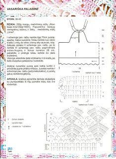 scheme crochet dress