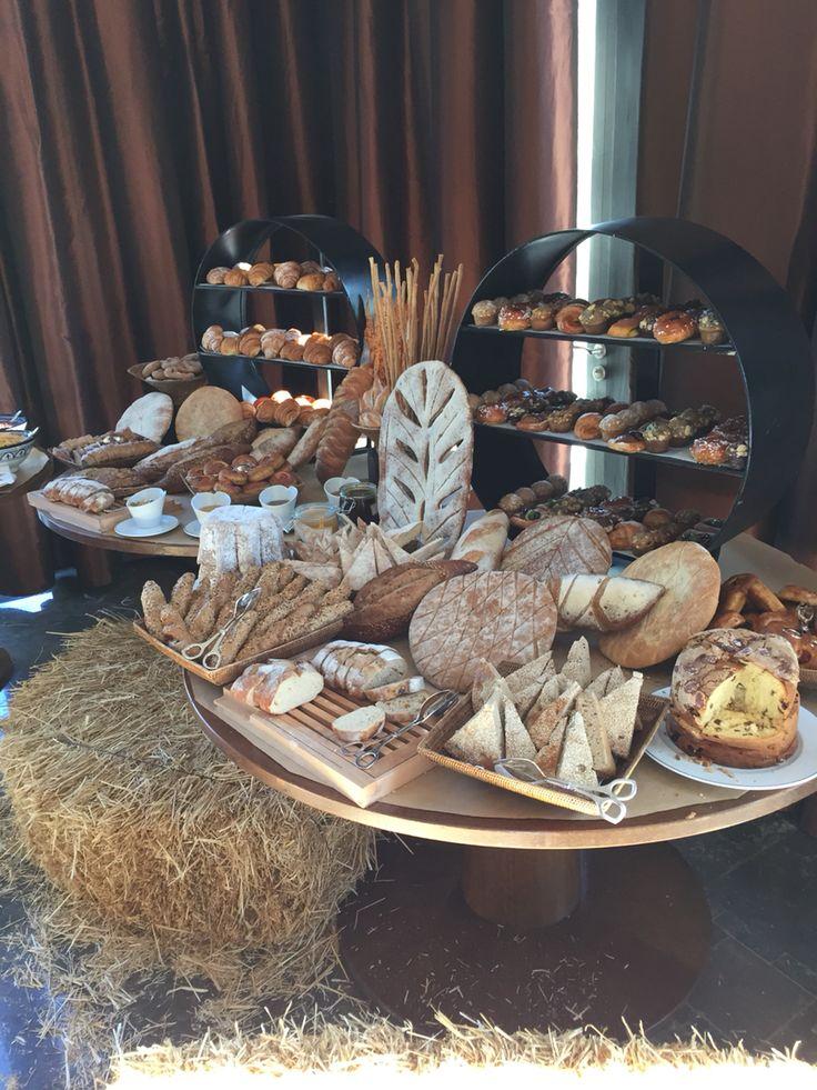 Station du pain et viennoiserie
