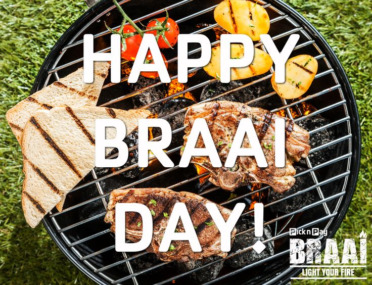 Happy #BraaiDay South Africa! We've got more than 120 #PnPBraai recipe's for you to choose from! ♨ ♨ ♨