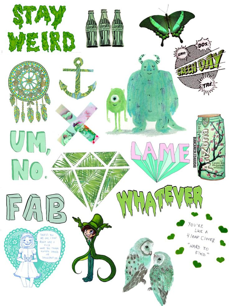Green collage :)