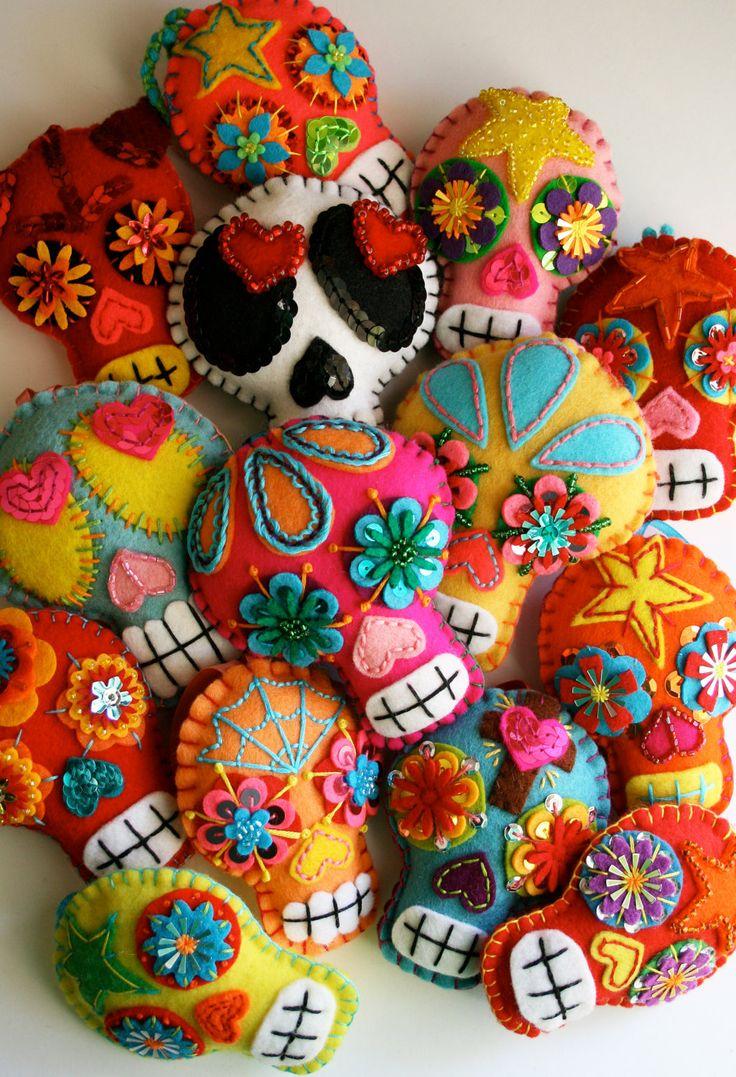 Dia de los Muertos - Custom Made Day of the Dead Sugar Skull