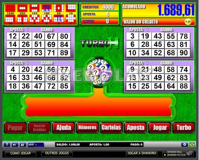 Video bingo Turbo H