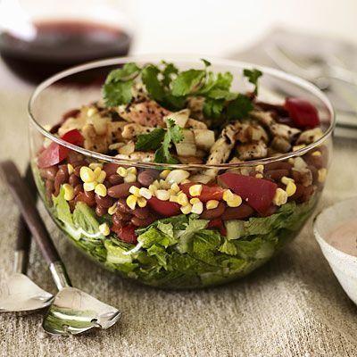 Fresh Tossed Southwestern Chef #Salad   Health.com