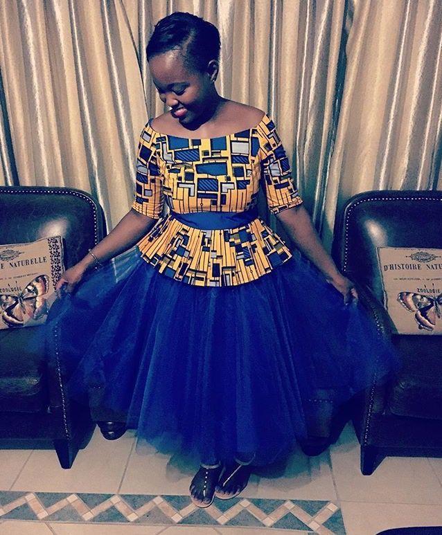 African Fashion   #ankara #kente #kitenge #asoebi tutu skirt