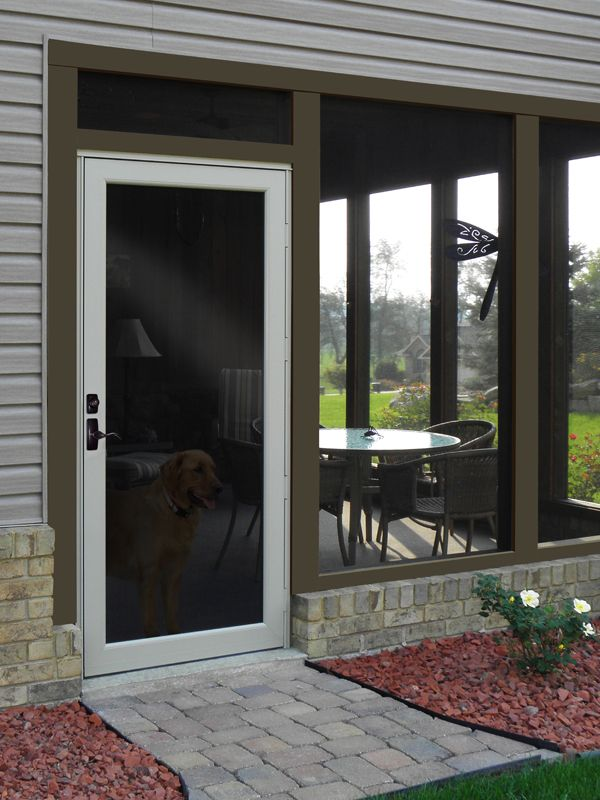 78 best images about entry patio storm doors on for Storm doors for patio doors