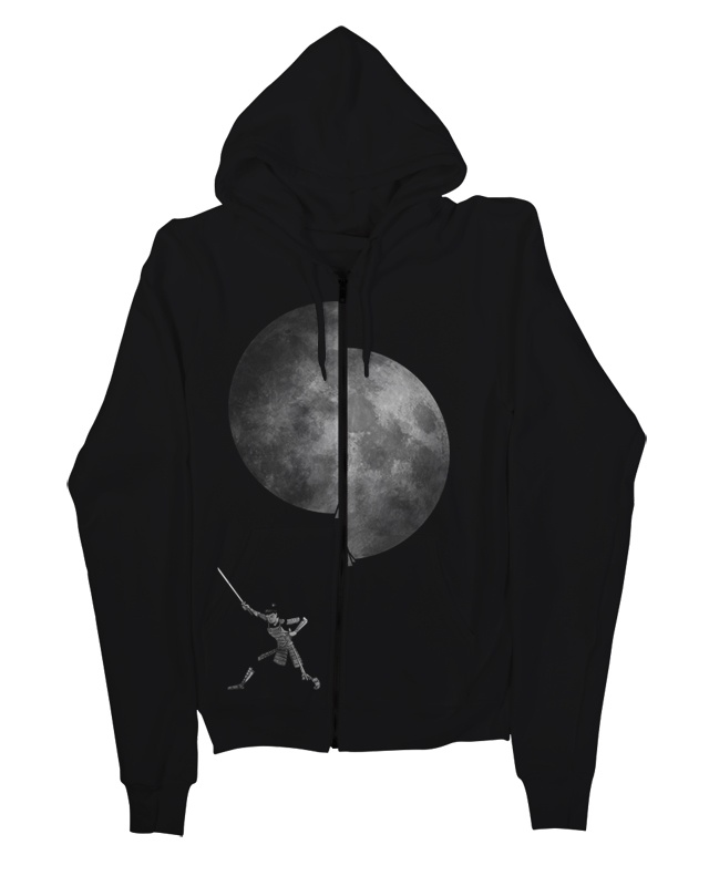 slice the moon.    for threadless loves hoodies chalenge, if you dig it please support this design http://www.threadless.com/submission/434484/slice_the_moon    thanks :)