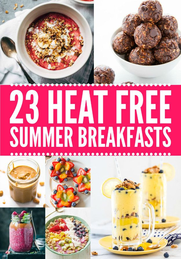 21 Summer Breakfasts That Don't Require A Stove