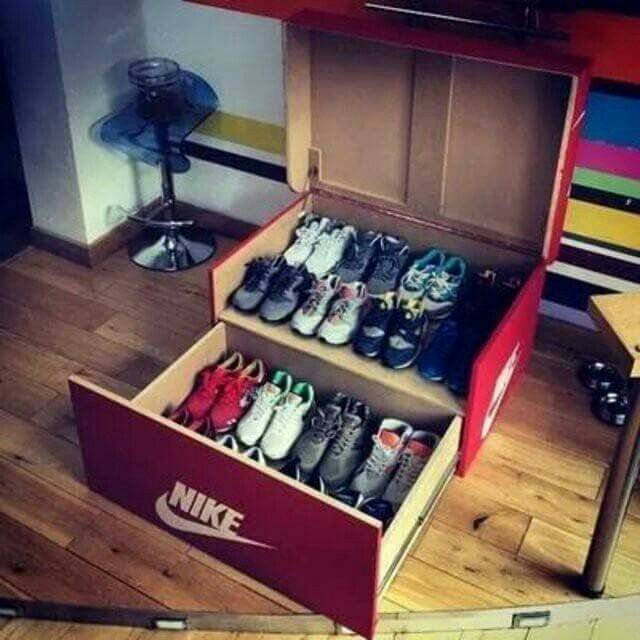 Attractive Como Organizar Zapatos. Shoe Box StorageSneaker ...