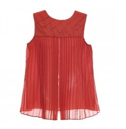 Blusa trançada com as costas plissadas Anamac para Style Market http://www.stylemarket.com.br/top-costas-plissadas-terracota-anamac.html#.UcMmtxZ9ndk